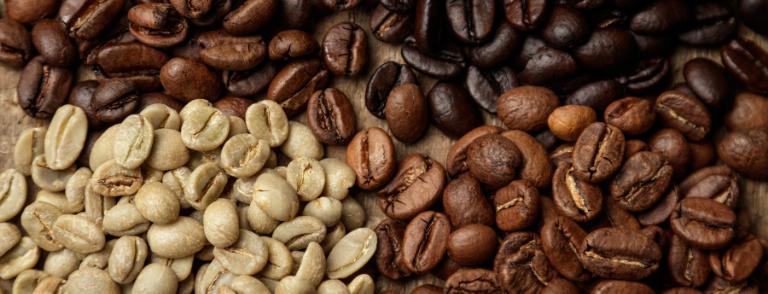 tueste del café natural