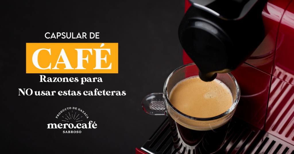 café en capsulas dolce gusto